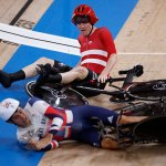 Fans blast 'cheating' Danish cycling team for causing crash that saw Team GB knocked out of Olympics 💥👩💥