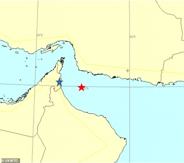 A non-piracy incident is under way around 61 nautical miles east of Fujairah, United Arab Emirates, according to the United Kingdom Maritime Trade Operations