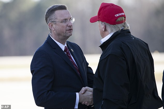 Donald Trump lawyer former Rep. Doug Collins said in a letter congressional requests for former DOJ officials to testify were 'unlawful,' but said Trump would not exercise legal options for now