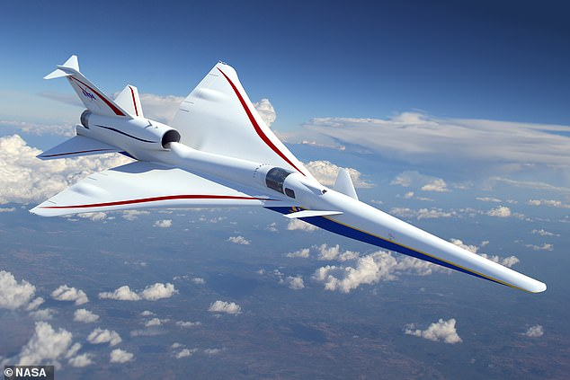 In 2024, NASA will fly the X-59 over several communities around the nation to gauge people's response to the sonic thump sound produced by the aircraft – if they hear anything at all