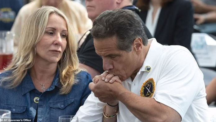 ¿I now understand that there are generational or cultural perspectives that, frankly, I hadn¿t fully appreciated, and I have learned from this,' Cuomo (seen above kissing a woman's hand) said
