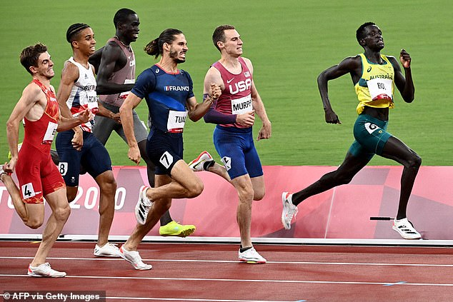 The Sudanese-born middle distance runner was in career-best form in the lead up the final at the Tokyo Games