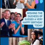 Prince William and Kate Middleton are the first to wish Meghan Markle happy birthday 💥👩💥