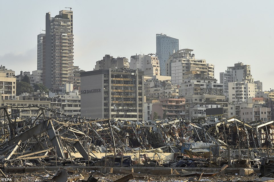 Beirut, the capital of Lebanon and once known as the Paris of the Middle East, still largely lies in ruins a year on from the devastating blast at the city's port