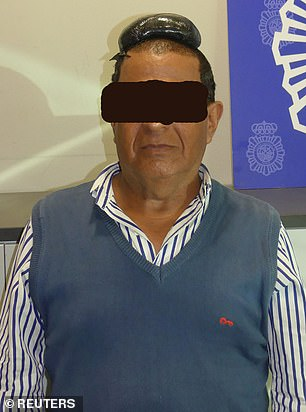 A Colombian smuggler stopped at Barcelona airport in July 2019