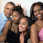 Michelle Obama praises 'wonderful husband and father' Barack on his 60th birthday 💥👩💥