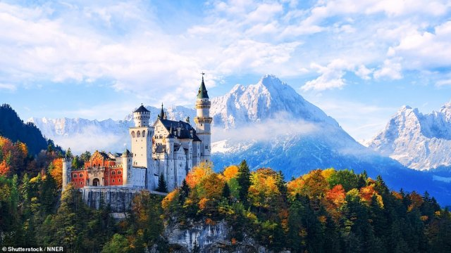 Germany (pictured) is one of seven countries that have been added to the green list, meaning holidaymakers won't have to quarantine upon return
