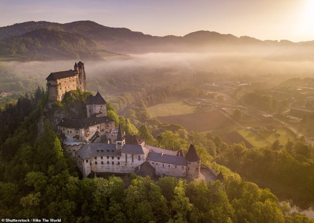 Slovakia (pictured) is one of seven countries that have been added to the green list, meaning holidaymakers won't have to quarantine upon return