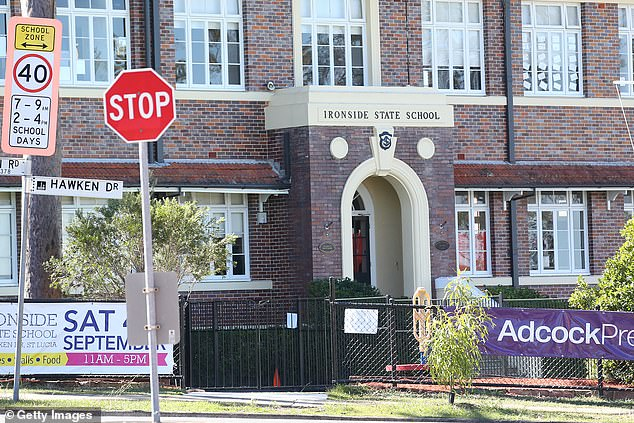 Ironside State School in St Lucia is one of a number of Brisbane schools caught up in Queensland's worst Covid outbreak since mid-2020