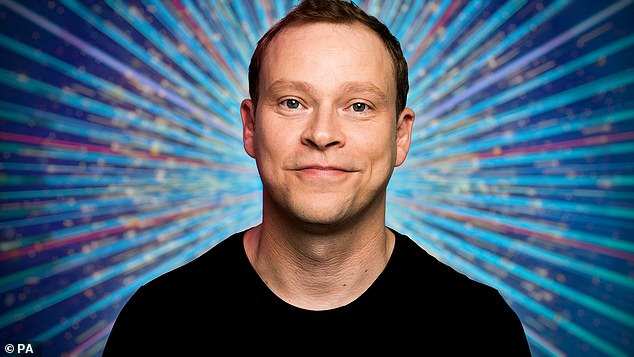 Starring role: Peep Show actor Robert Webb is also taking to the floor