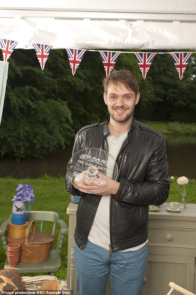 Tough: John spoke of how post-GBBO fame impacted him after going on a downward spiral and even speaking of the behaviour of BBC in his woes