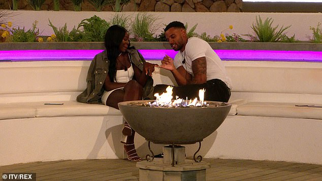Flirty:Matthew took Kaz aside and abruptly dumped her after he discovered she told Tyler the door was still 'open' for them to have a romance
