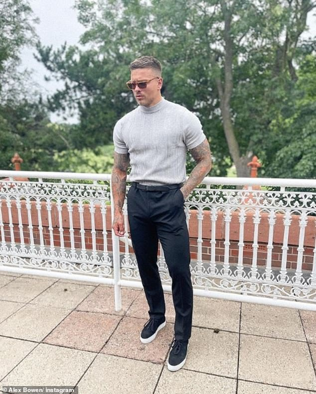Former life: Alex earned £400-a-week as a scaffolder in Wolverhampton and lived with his mum while paying off a £5,000 pay day loan before Love Island in 2016