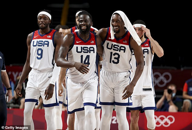 The Aussies put everything into their semi-final match against powerhouse team USA and were leading by three points at halftime before ultimately going down 97-78