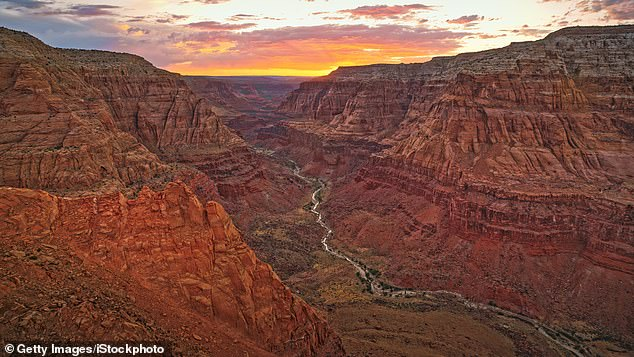 The extreme heat in the lower elevations is the result of a compression of air as it descends into the canyon