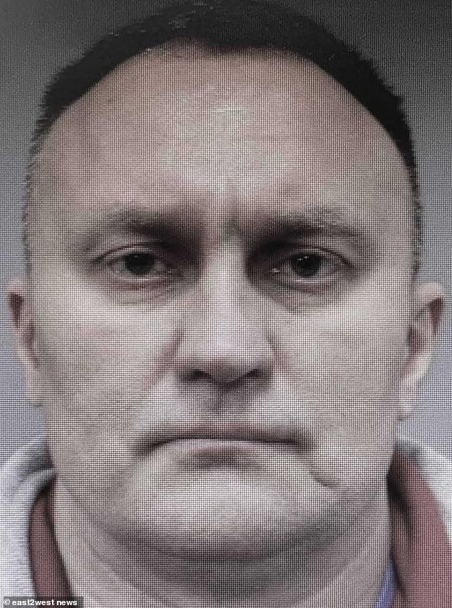 Alexander Mavridi, 49, is among five inmates who broke out of a jail in Instra, Moscow region, using a wrench illegally smuggled into their cell to break the locks