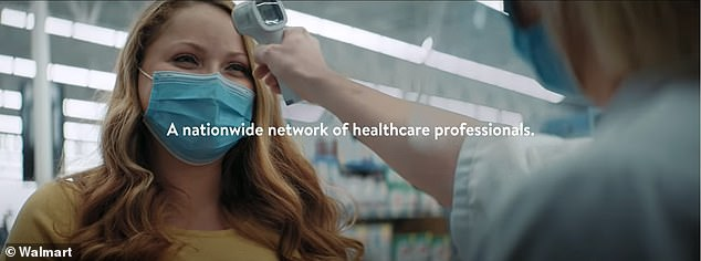 Walmart's 'Ready to help our community' shows the role the retailer plays in the pandemic, from testing to administering vaccines