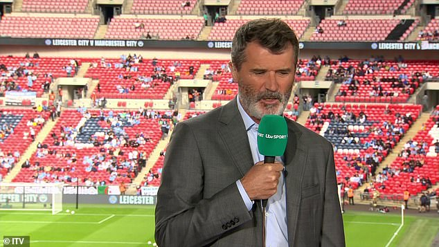 Keane and Wright were joined in the ITV gantry by former Leicester striker Emile Heskey and host Mark Pougatch