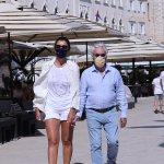 Bernie Ecclestone, 90, enjoys stroll with wife Fabiana Flosi, 45, and their son Ace in Croatia 💥👩💥💥👩💥