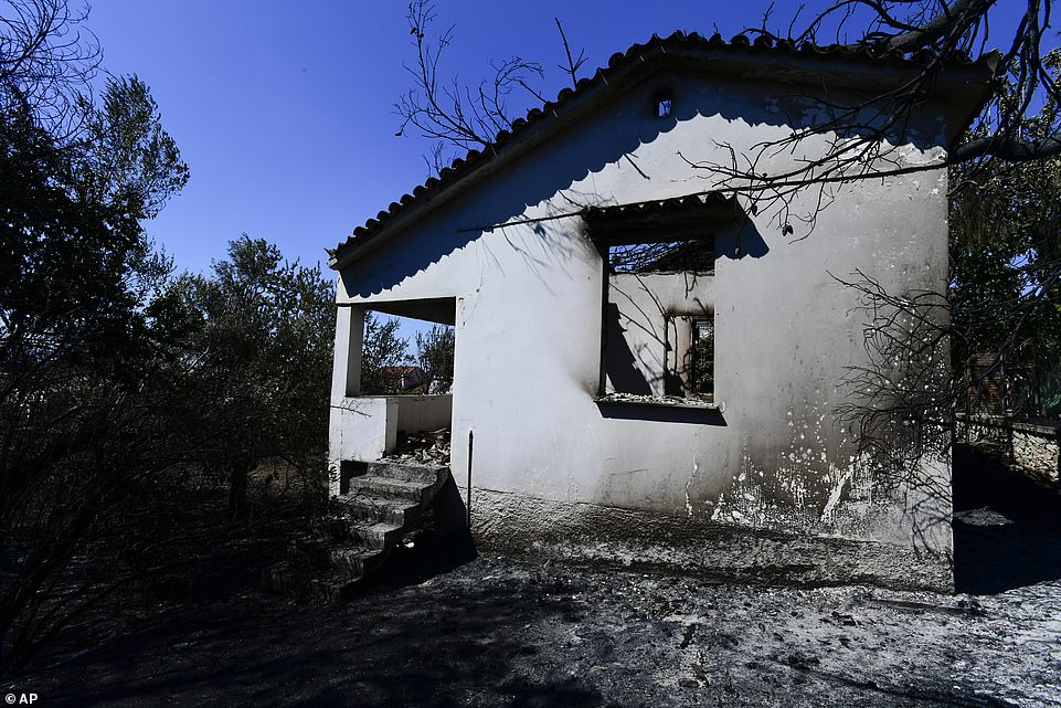 The causes of the fires are under investigation. Three people were arrested Friday - in the greater Athens area, central and southern Greece - on suspicion of starting blazes, in two cases intentionally