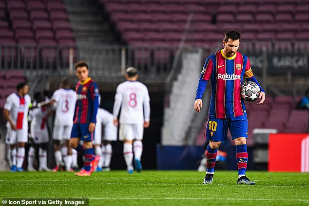 Messi has spent his entire career with Barcelona but is now finally going to venture out