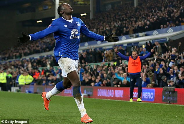 Lukaku's next permanent transfer after his move to Chelsea was a £28m switch to Everton