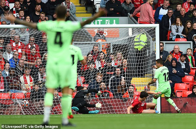 But Alex Berenguer converted from close range as Jurgen Klopp's men had to settle for a point
