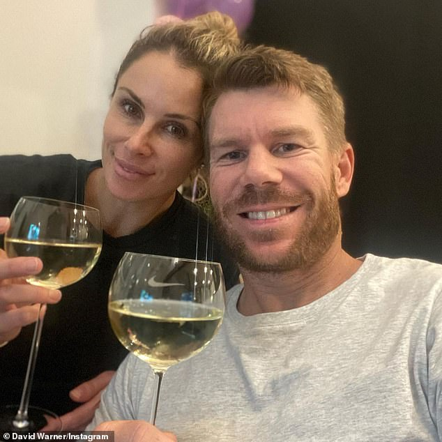 Stronger-than-ever: 'Solid partnership,' David wrote, adding the hashtags love, family, rock, and best friends. Here with Candice