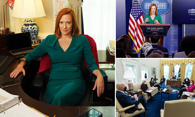 Jen Psaki Gregory Mecher - Jen Psaki Describes How She Hates Being Called Nice In Vogue Interview Daily Mail Online