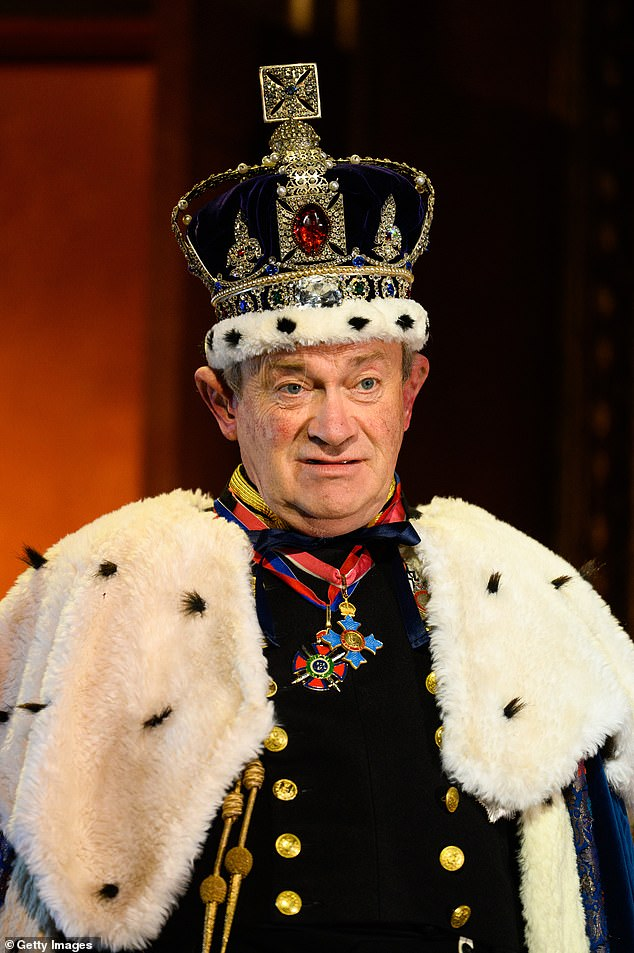 His Royal Highness: Harry Enfield transfers his Prince Charles character from screen to stage in The Windsors: Endgame, which goes up in the West End this week