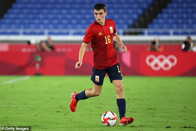 18-year-old Barcelona midfielder Pedri made 73 appearances last season for club and country