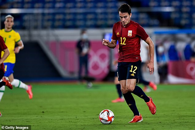 Former Manchester City defender Eric Garcia has still not been registered by Barca