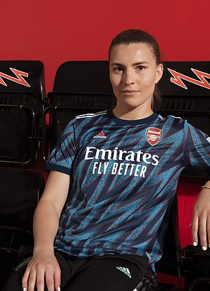 The Arsenal women's team and the club's youth sides will also wear the kit this season