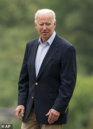 Biden is returning to Washington from Delaware the same day