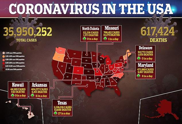 Biden's dipping favorability comes as US coronavirus fears remain high