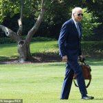 Biden filmed 'ignoring' Secret Service while entering White House 💥👩💥