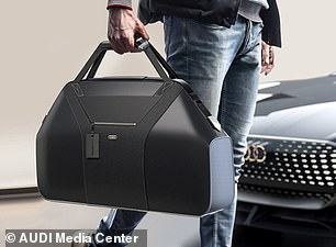 Storage is limited in the two-seat luxury car