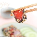 TikToker shares recipe for transforming WATERMELON into imitation tuna in five easy steps💥👩💥💥👩💥