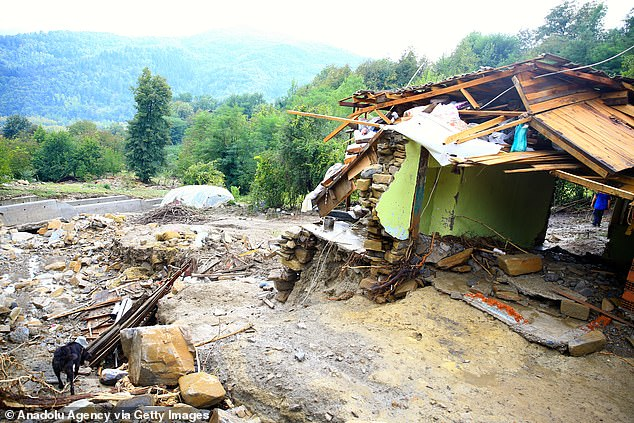 TURKEY: The floods battered the Black Sea coastal provinces of Bartin, Kastamonu, Sinop and Samsun on Wednesday, demolishing homes and bridges and sweeping away cars as helicopters scrambled to rescue people stranded on rooftops
