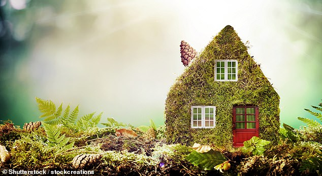 Go green: Green mortgages reward those whose homes are energy-efficient