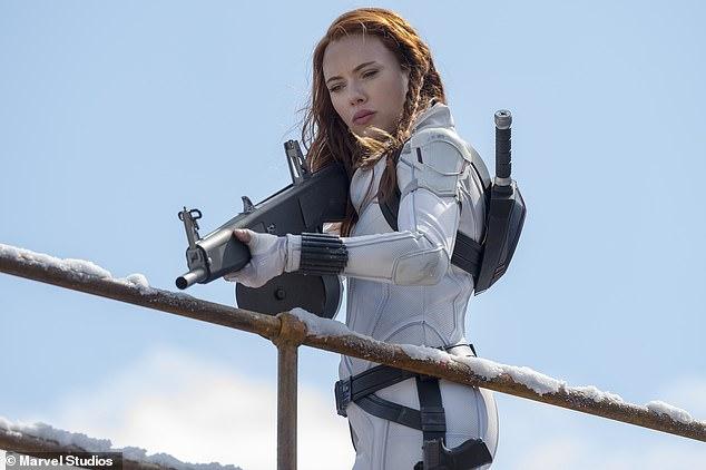 Johansson as Natasha Romanoff in Black Widow directed by Cate Shortland