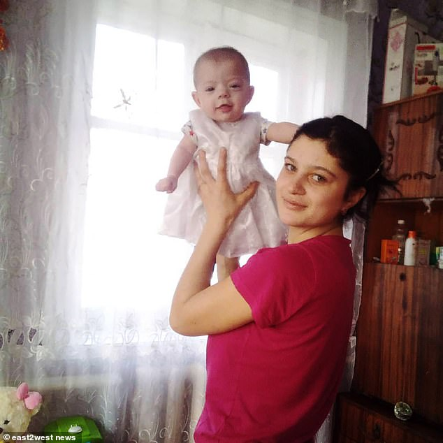 Police said Darina, from Bakhmach, Ukraine, had failed to properly secure the pan of boiling water she intended to use to a cook a chicken the family had slaughtered