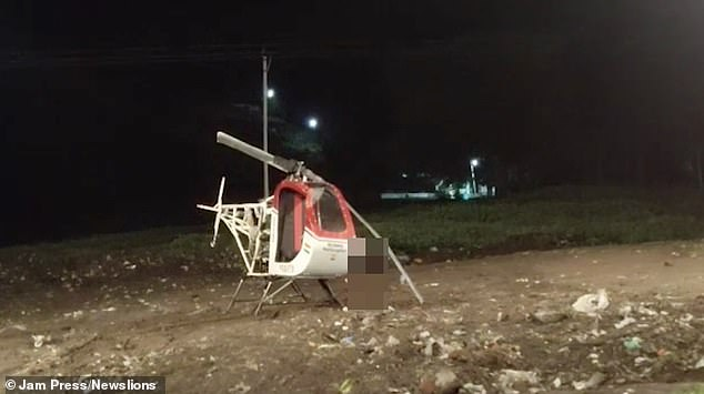 Mechanic Sheikh Ismail Sheikh Ibrahim had spent two years building the ultralight helicopter in Yavatmal, central India, before the fatal test flight
