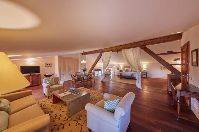 Some of the bedrooms in Zoetry Mallorca have an aristocratic air about them