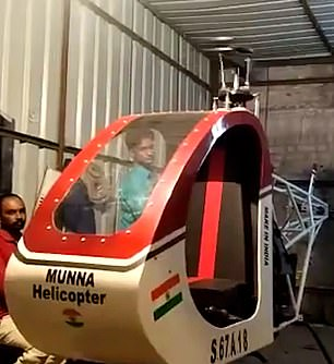 Sheikhhad hoped to debut his ¿Munna Helicopter¿ on India¿s Independence Day on 15 August