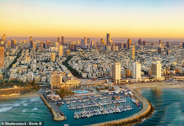 Maureen reveals Tel Aviv in Israel is one of her favourite cities in the world