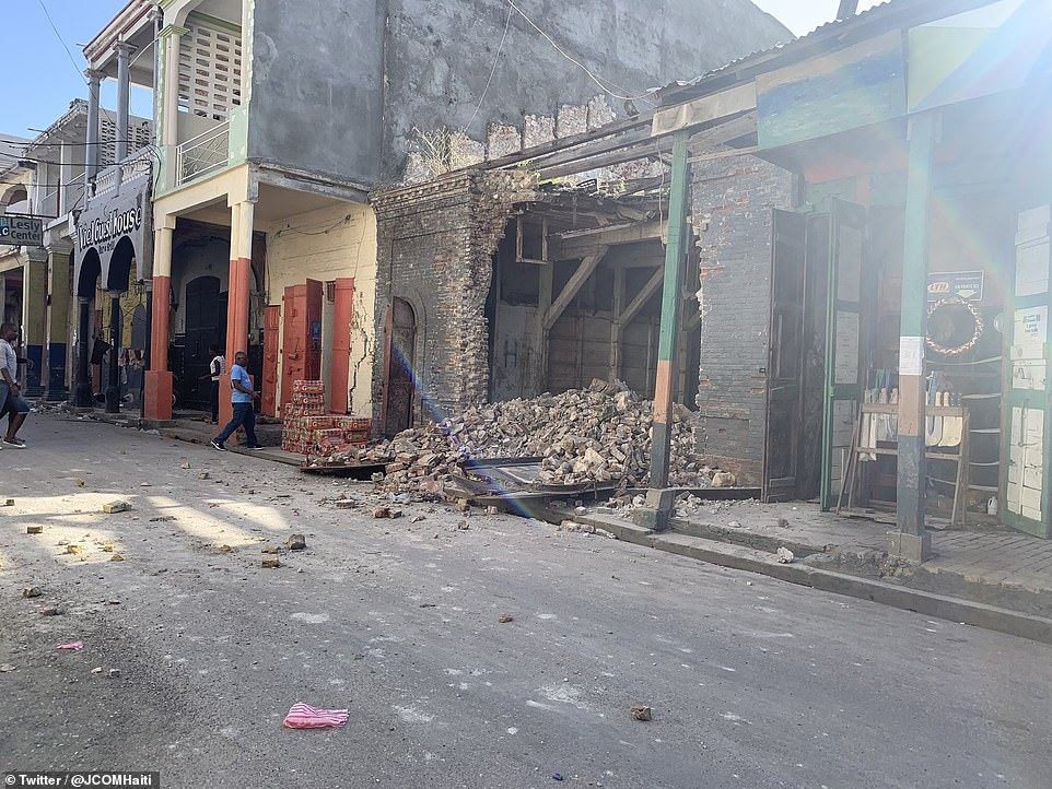 'Everyone is really afraid. It's been years since such a big earthquake,' said Daniel Ross, a resident in the eastern Cuban city of Guantanamo