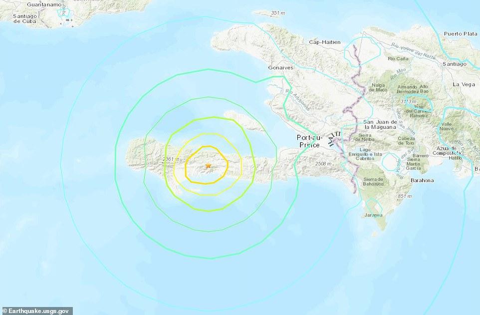 The 7.2-magnitude earthquake was felt across the Caribbean, including in Cuba and Jamaica