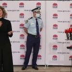 Gladys Berejiklian abruptly ends Covid press conference, NSW, Covid-19, Australia 💥👩💥