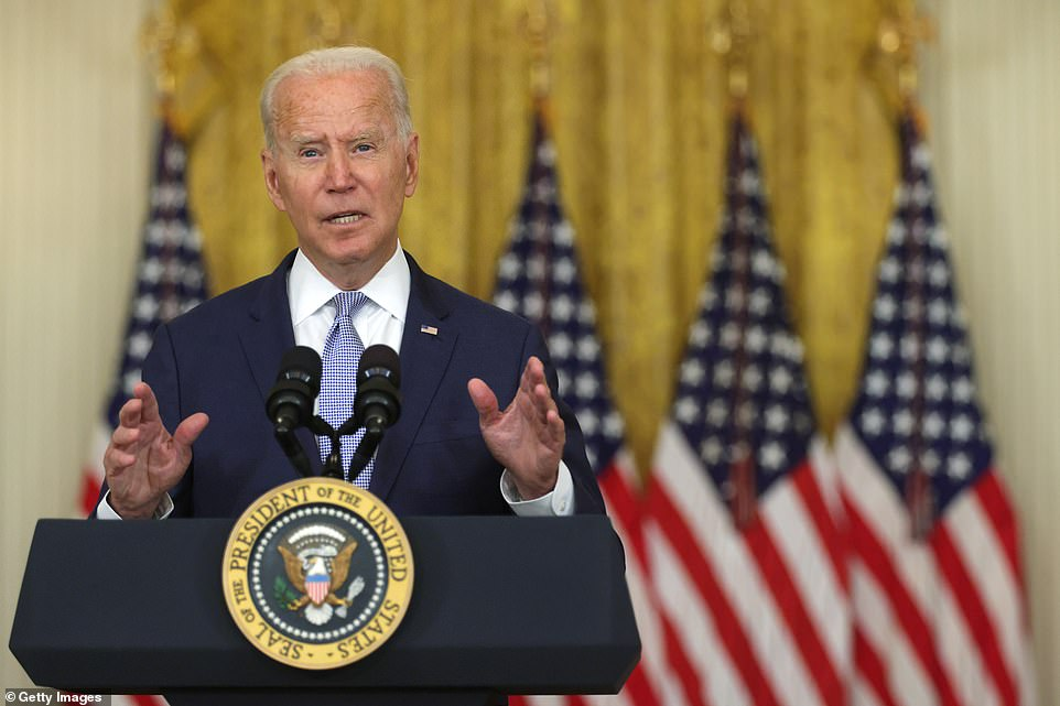 US President Joe Biden, pictured at the White House last week, has been criticised by media across the political divide